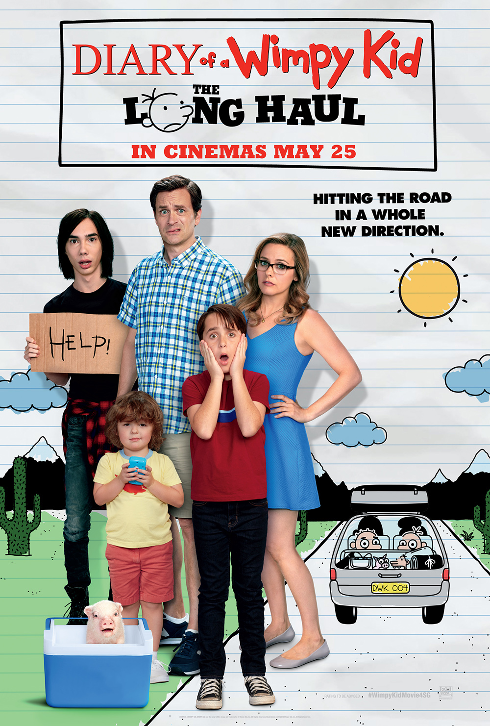 diary of a wimpy kid movie review