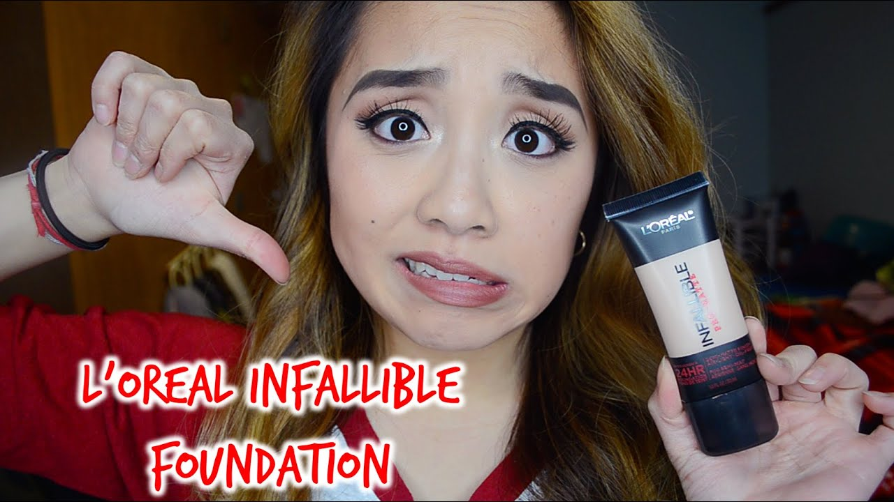 l oreal infallible pro matte foundation review