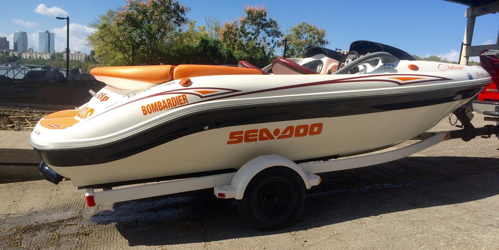 2001 seadoo challenger 1800 review