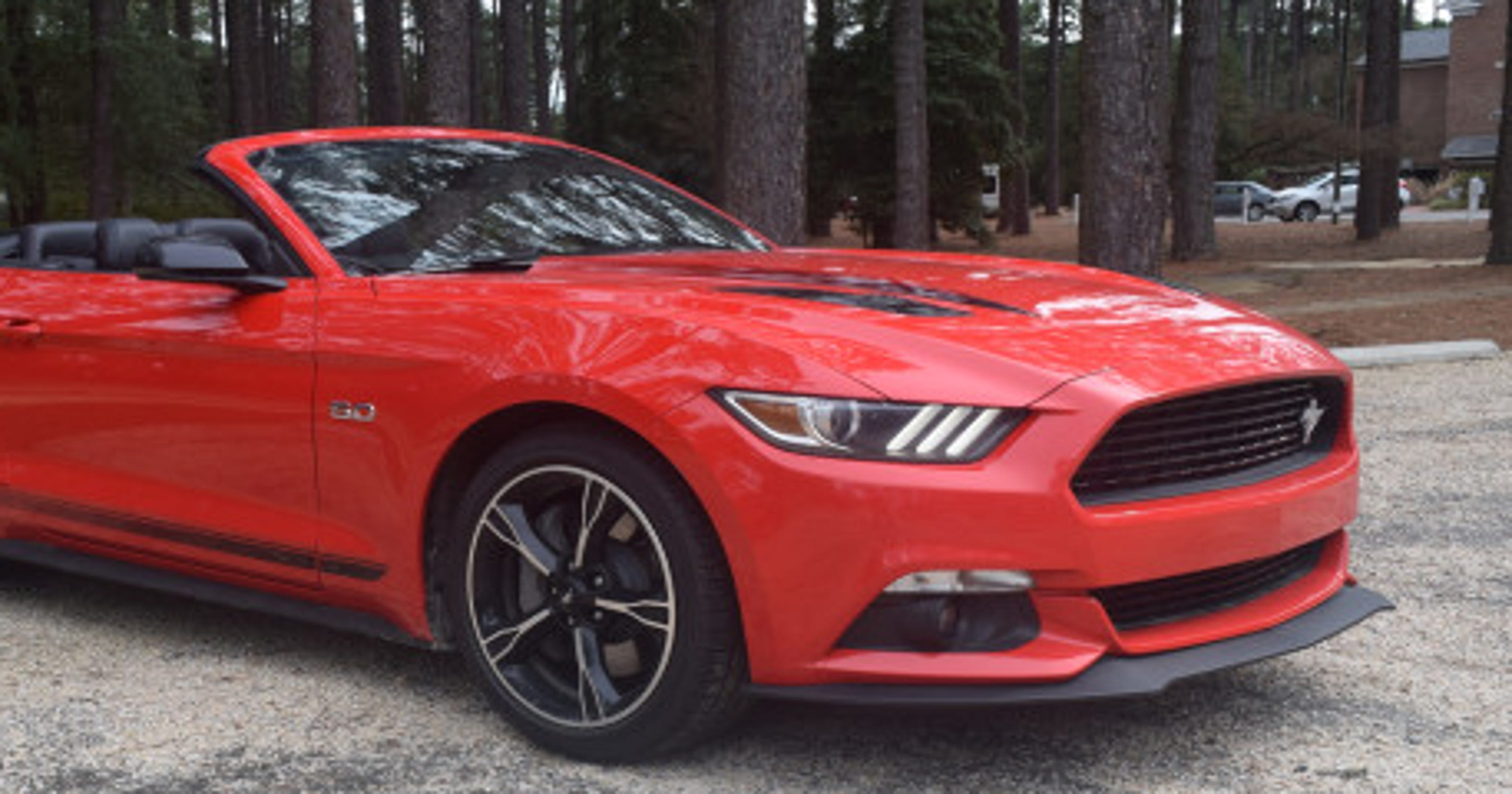 2016 mustang gt convertible review