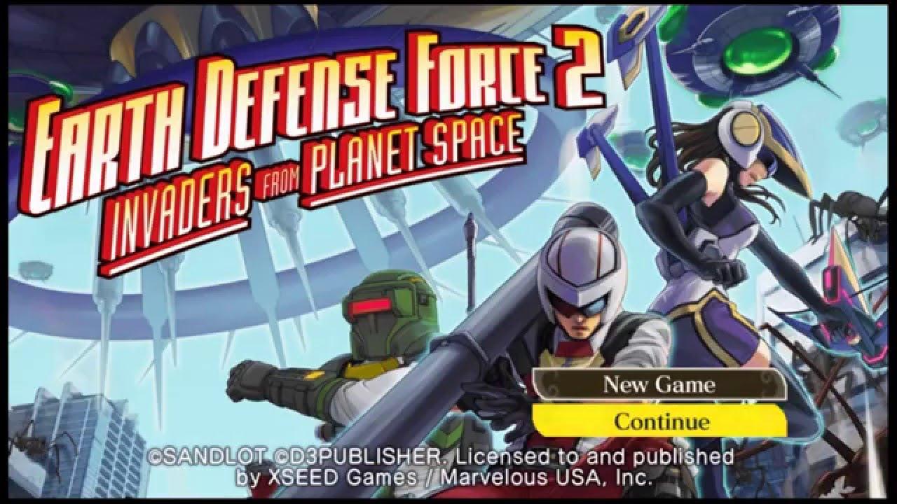 earth defense force 2 vita review
