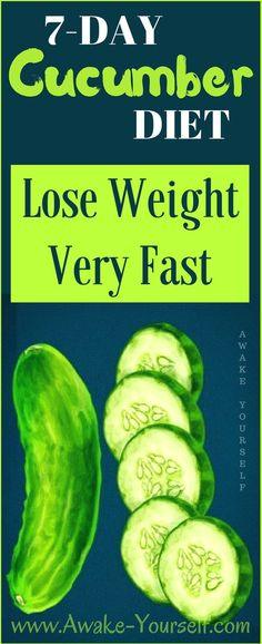 7 day cucumber diet review