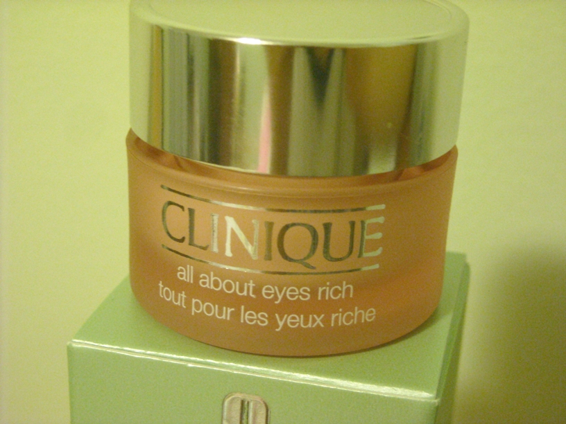 clinique all about eyes cream review