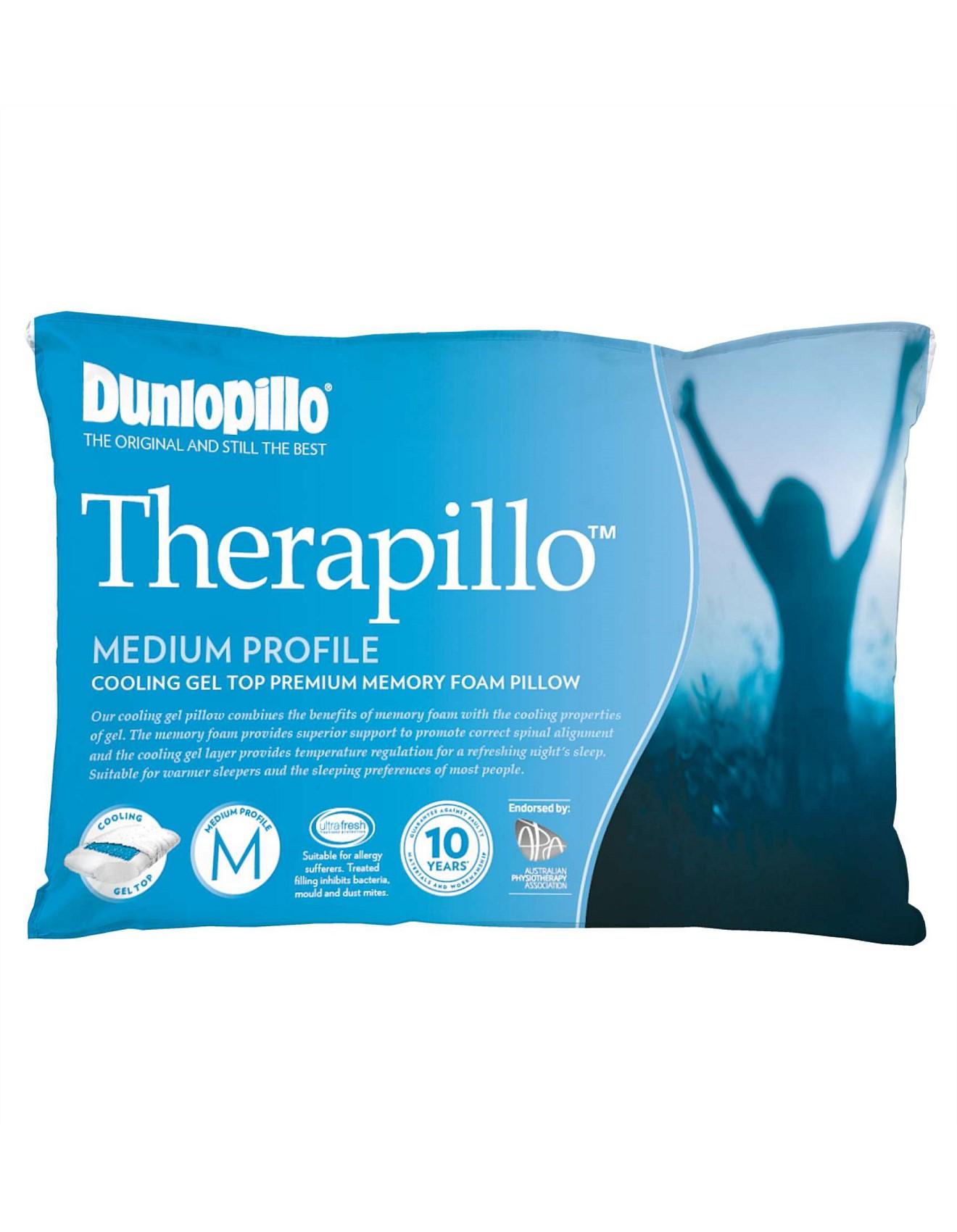 dunlopillo memory foam pillow review