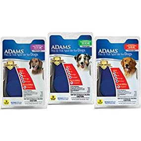 adams flea and tick spot on for dogs reviews