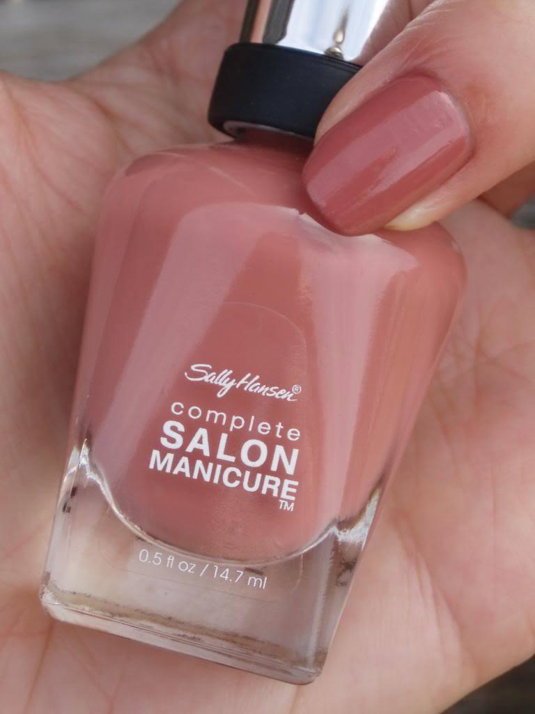 sally hansen complete salon manicure review