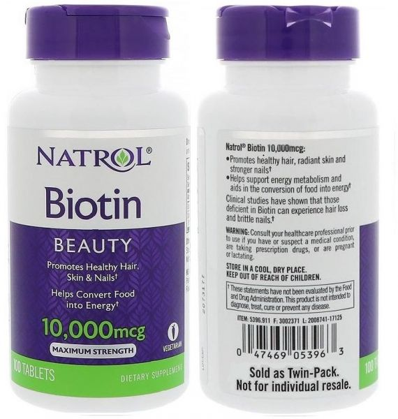 natrol biotin 10000 mcg reviews