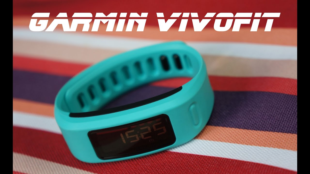 garmin vivofit 3 review youtube