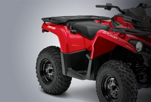 2017 can am outlander 450 review