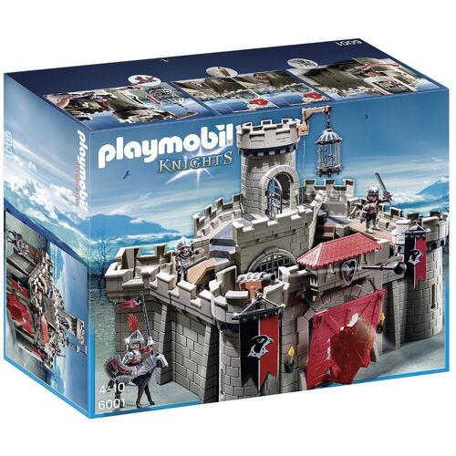 playmobil hawk knights castle review