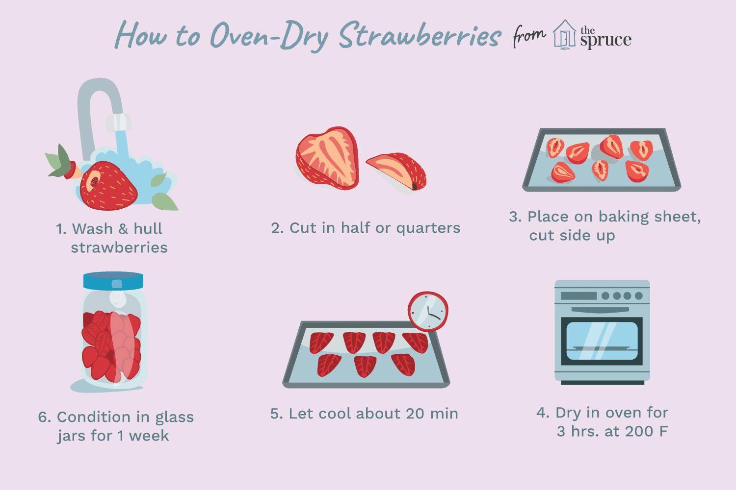 dried strawberries in oven review