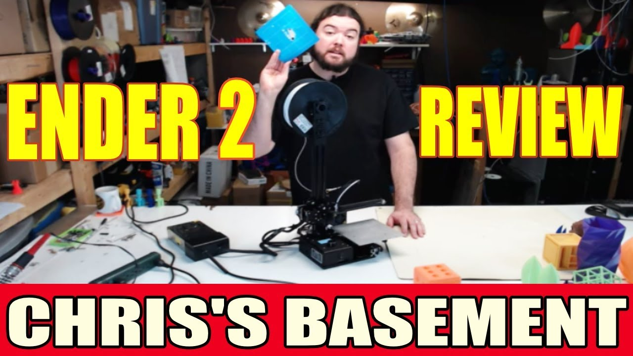 ender 2 3d printer review