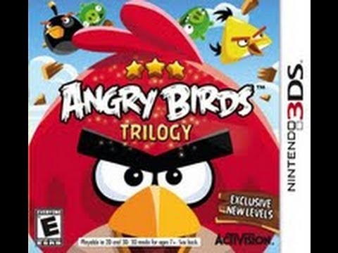angry birds trilogy 3ds review