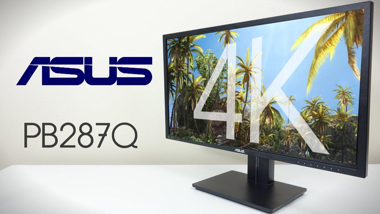 asus pb287q 28 4k review