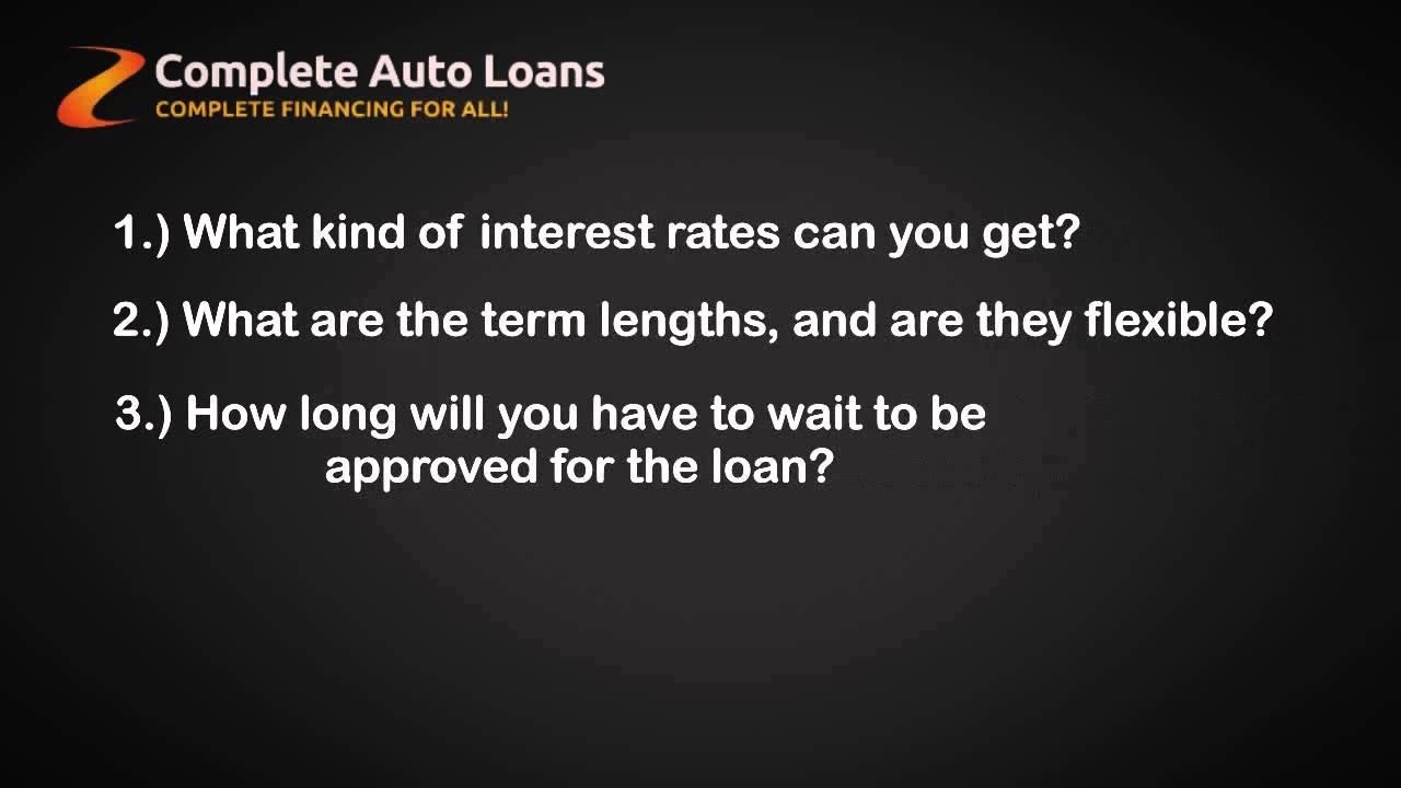 bad credit auto loans reviews