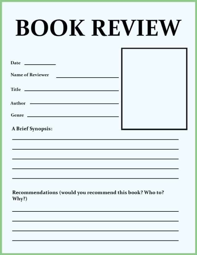book review examples for isc