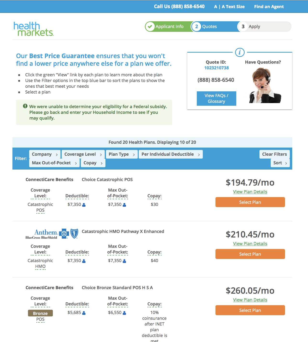 best individual health insurance reviews