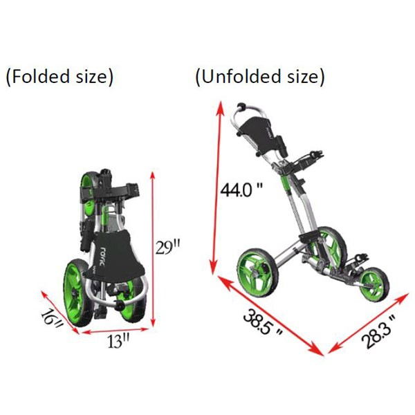 clicgear rovic rv2l trolley review