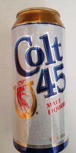 colt 45 malt liquor review