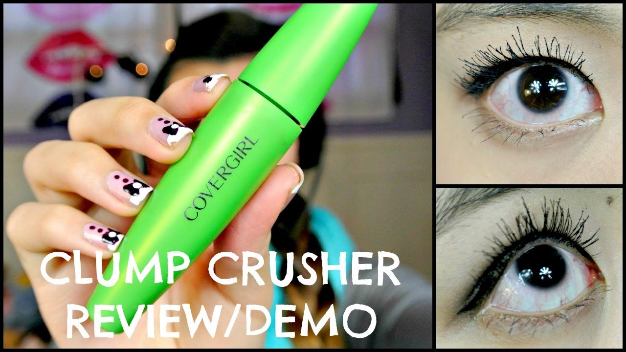 covergirl clump crusher waterproof review