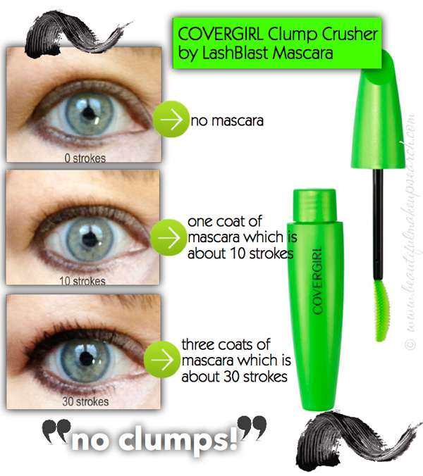 covergirl clump crusher extensions mascara review