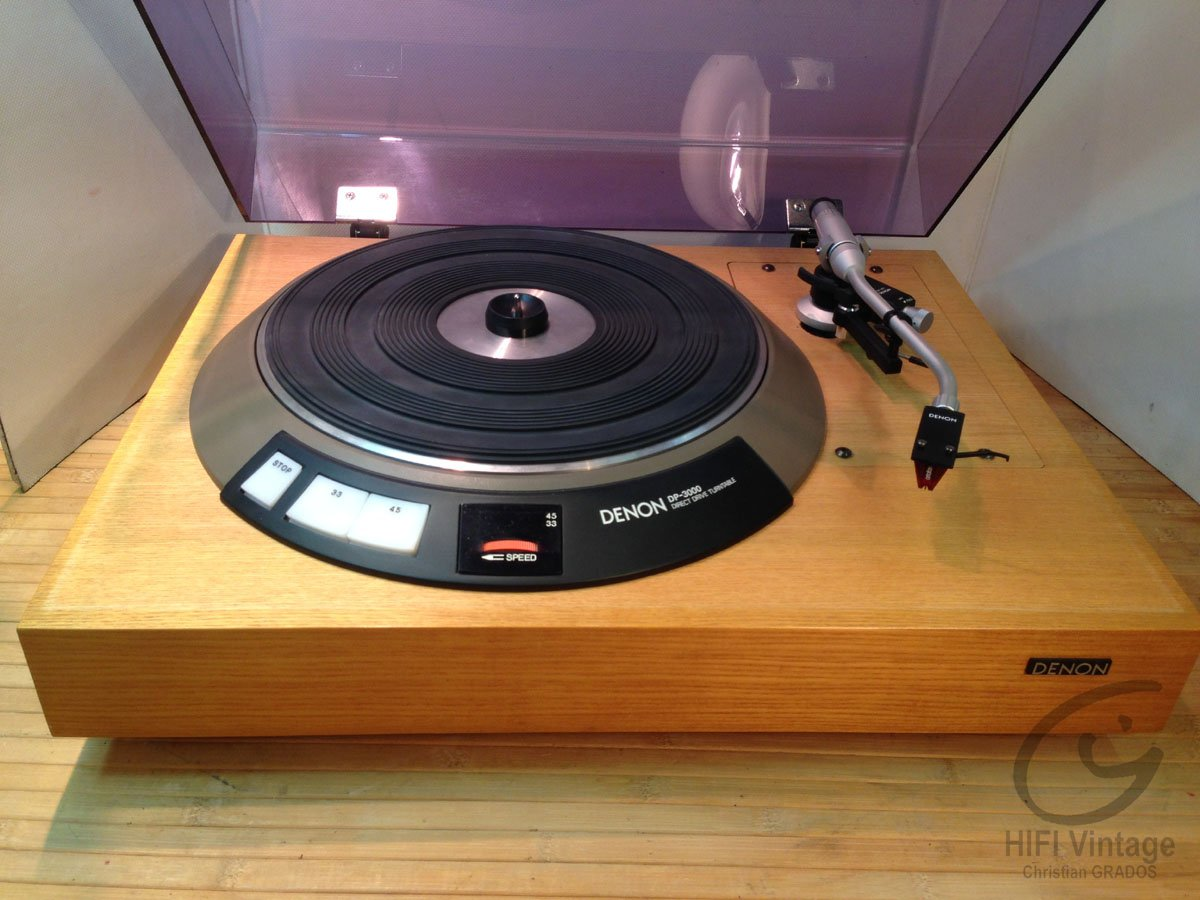denon dp 3000 turntable review
