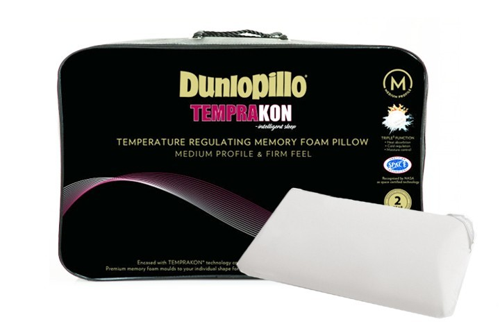 dunlopillo memory foam pillow review