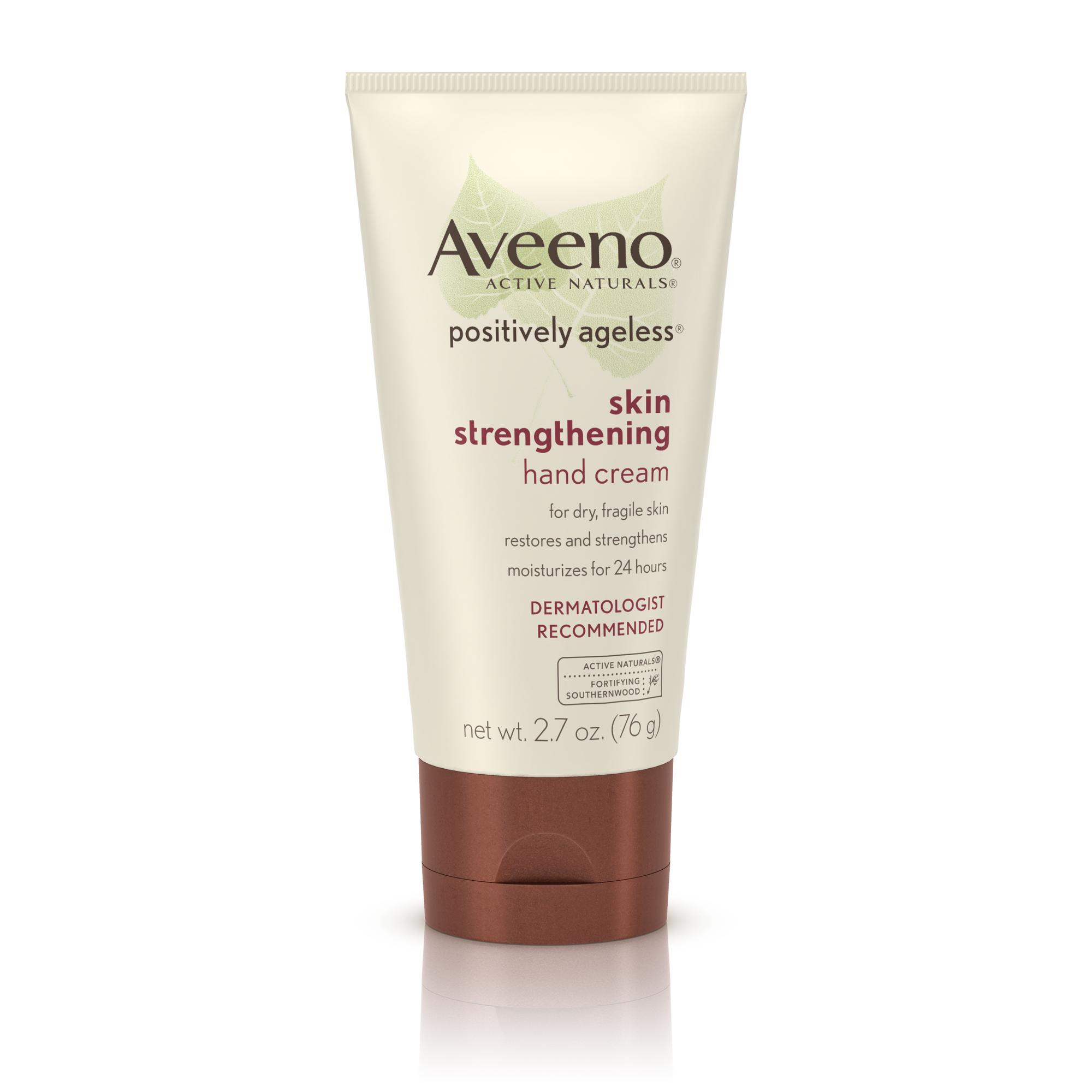 aveeno skin strengthening body cream reviews