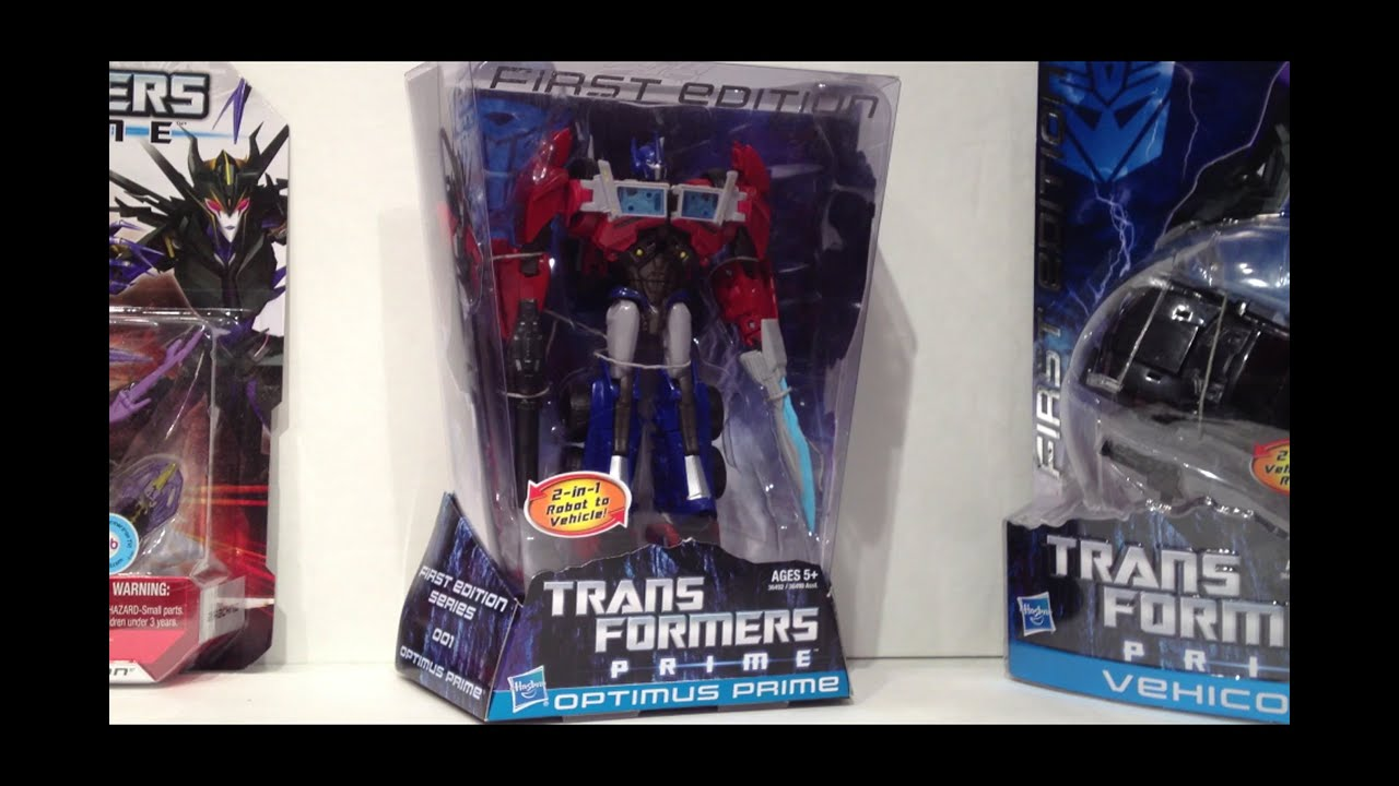 first edition optimus prime review