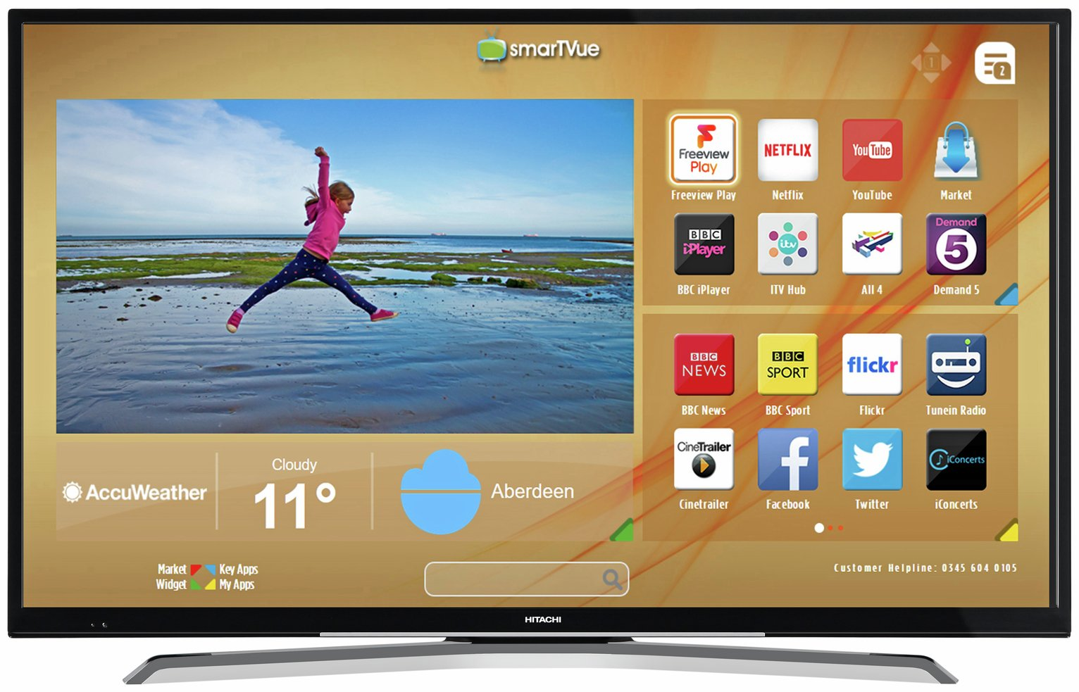 hitachi 50 inch 4k tv review