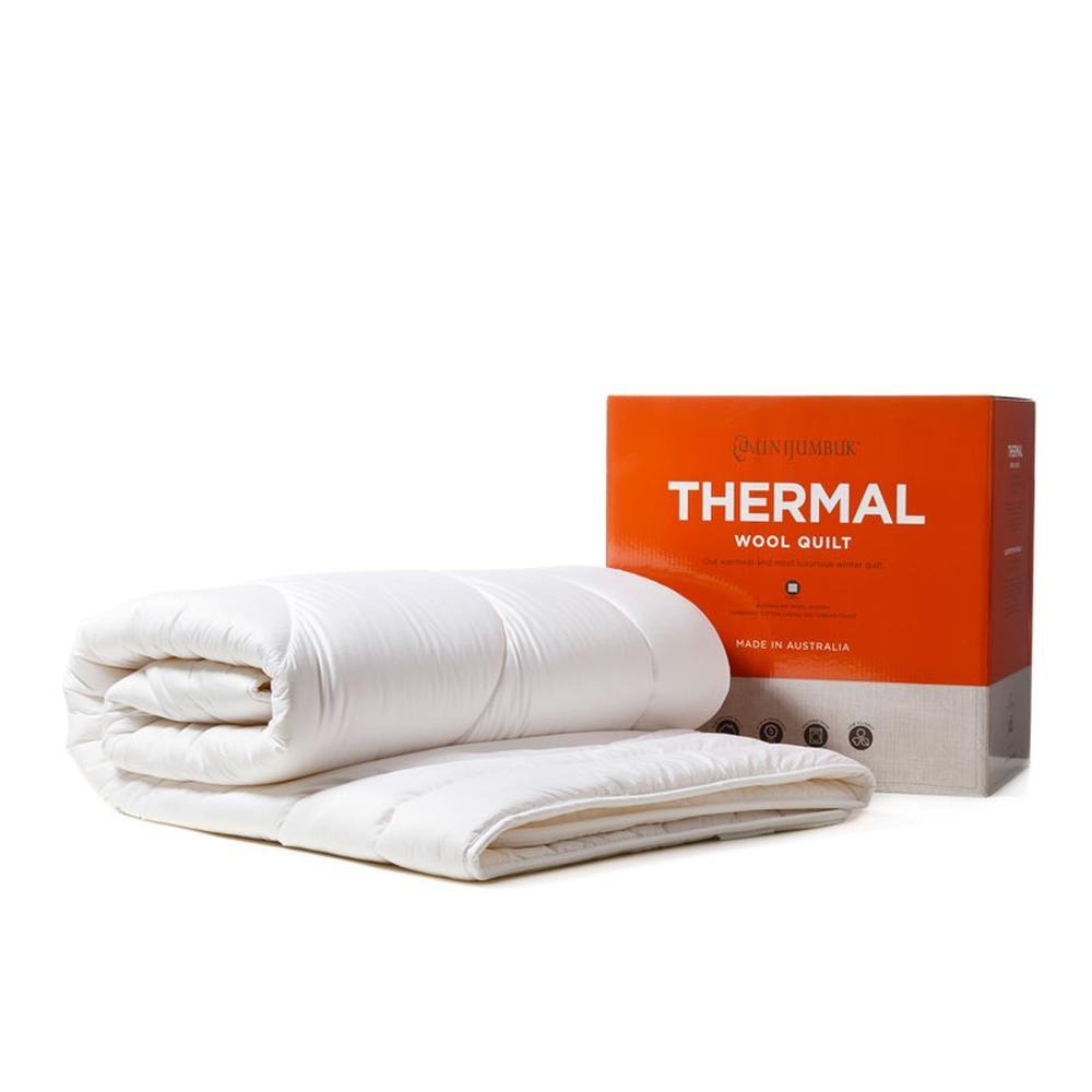 minijumbuk thermal wool quilt review