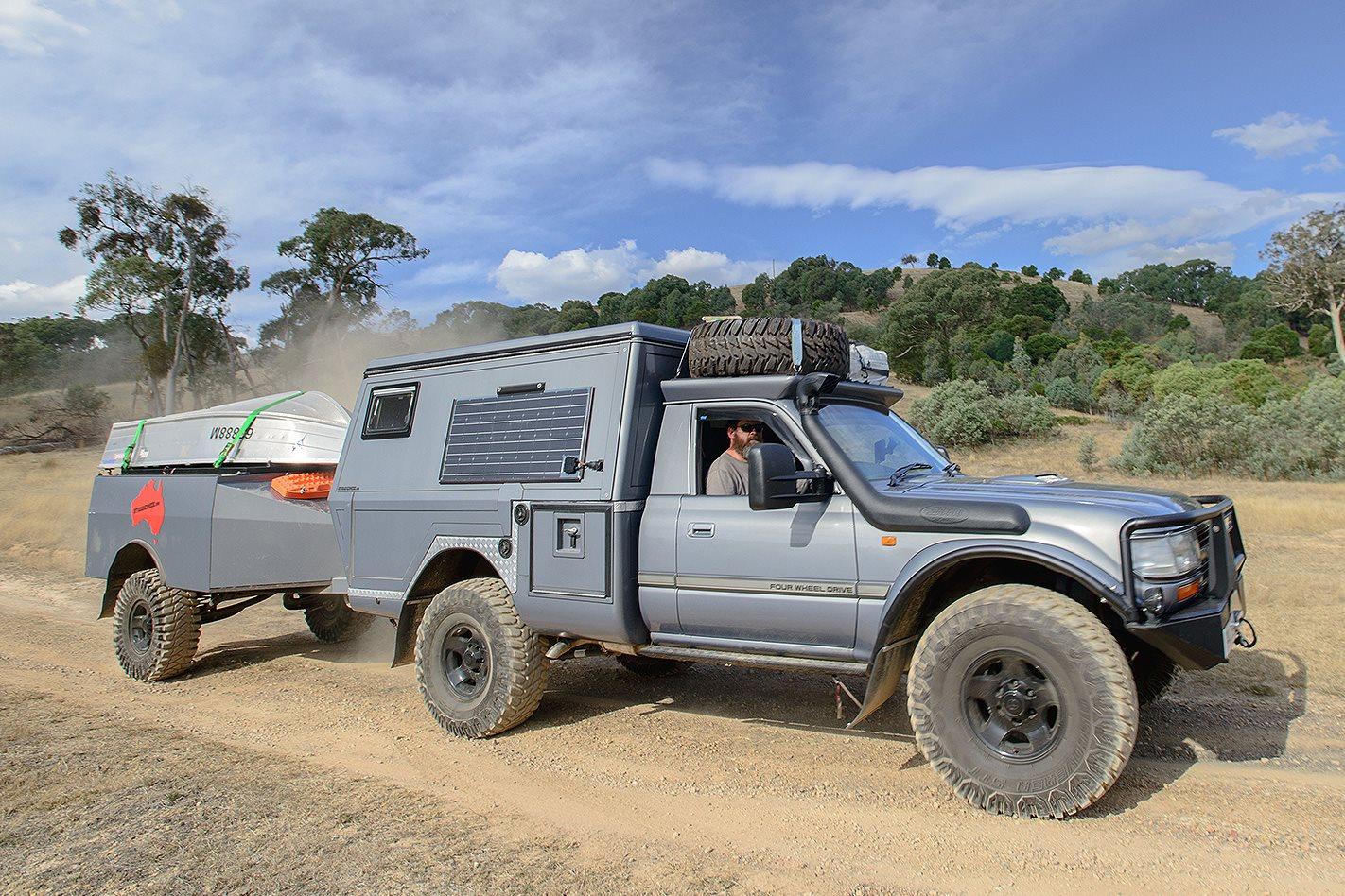 toyota landcruiser 80 series gxl review